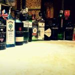 The gin collection..