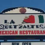 The Front Signage of LA Quetzaltesa