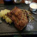 Excellent food in Le Bistrot Decouvertre