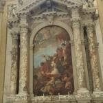 la pala di Sebastiano Ricci