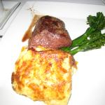 Tenderloin and AuGratin Potatoes