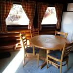 dining area - cabin 5