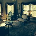 Photo of front living room at the Inn on Main Street, Weaverville, NC