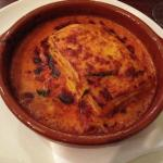 Crab lasagne - enough for 2 persons really