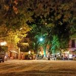 Plaza San Fernando - a great place nearby for a meal or drink