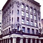 Propes Hall is a commercial building constructed in 1896 situated in Savannah's Historic Distric