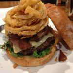 The Wild Thing - Tricked out Bison Burger