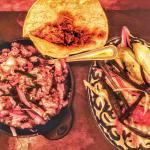 Carnitas and tortillas