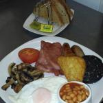 Now there's a full English breakfast