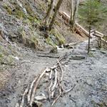 Wutachschlucht modderpaden