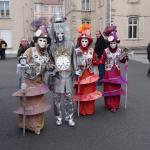 un des groupes costumés du carnaval de remiremont