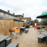 Our Modern Garden offers Loads of seating