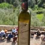 Fresh olive oil from the estate