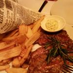 Entrecote vom Lavagrill mit Amazing Fries