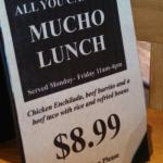 Great lunch special