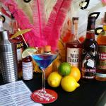 Shack Cocktails: Cool Blue Martini