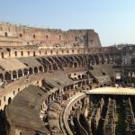 View of the Colosseum from the private third tier.