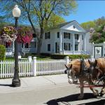 Haan's 1830 Inn during the Mackinac Island Lilac Festival