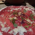 Lovely carpaccio