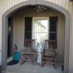the smoker's porch