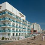 Boardwalk View of the Courtyard Marriott Ocean City