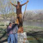The Salcido's with Fishing God