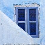 Blue is a popular color in Morocco