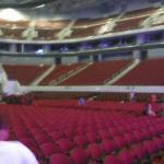 inside moa arena, patron/ground level