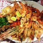 Seefood plate