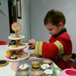 Even Fire Chiefs attend tea parties!
