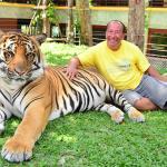 mon experience avec les tigres tout pres de l'hotel