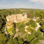 Château Hermitage de Combas vue générale