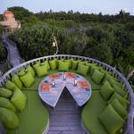 Fresh in the Garden Restaurant and Observatory at Soneva Fushi