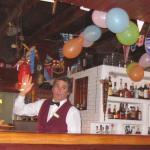 die Bar an Silvester 2014/15