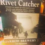 One of 6 fine cask ales served