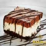 The best desserts in La Roma restaurant