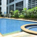 25-meter outdoor swimming pool
