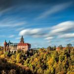 Zamek Książ jesienią fot. Dariusz Mitręga