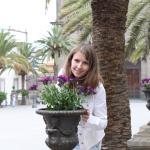 цветы на площади