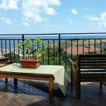 Offering Panoramic Views from the Studio Terrace