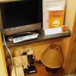 TV, Reading lamp