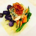 Fish Special - Whitefish with Basil Beurre Blanc