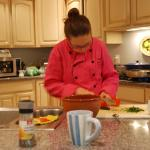 Chef in training......our daughter, Josalyn
