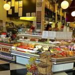 Deli Take Out Counter at Saul's
