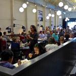 dining area of Saul's