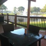 Area para comer al aire libre.