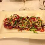 Zo kan het ook... Een heerlijk verse salade mmmm....