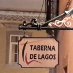 Wall Sign @ Taberna de Lagos