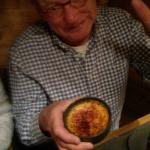 The creme brulee was somewhat disappointing (pre-prepared, inner to cold)