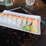 Salmon Mango Sushi Appetizer - Huge and Delicious